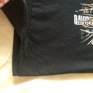 Harley-Davidson Shirts - black harley davidson t-shirt